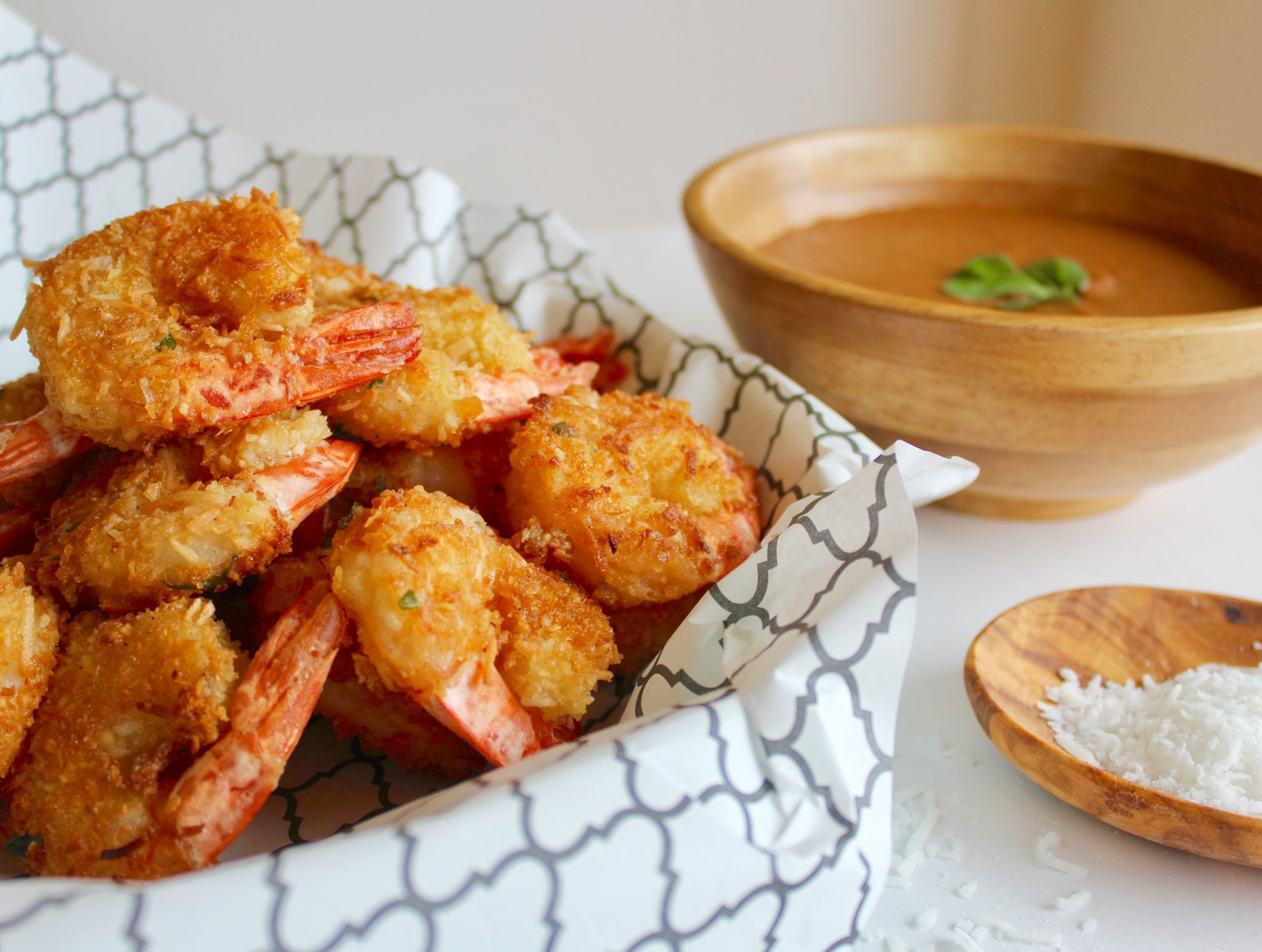 Coconut shrimp with spicy mango sauce- Sneaky Mommies, Nic ...