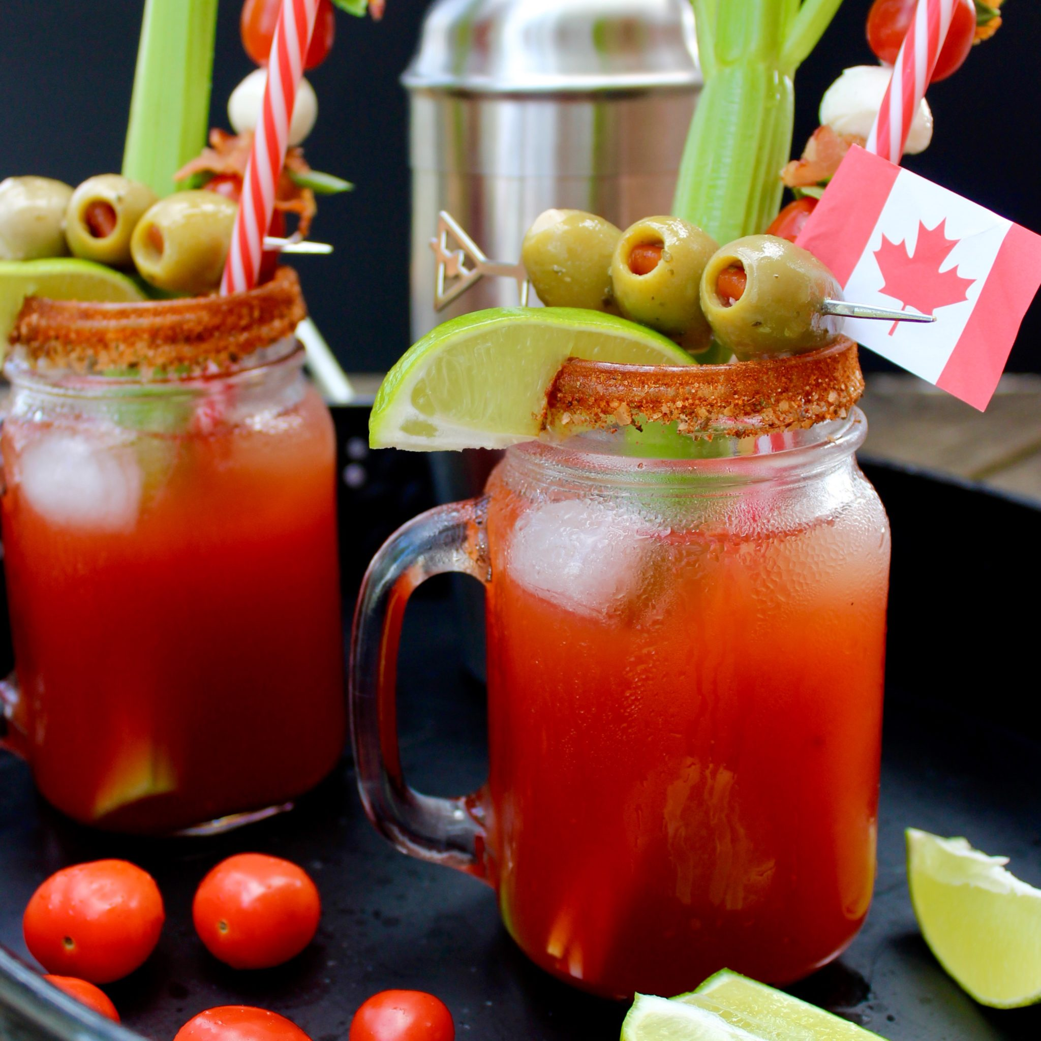 Mixed Cocktail Drink Recipes: Canadian Caesar Cocktail- Sneaky Mommies, Nic And Nat