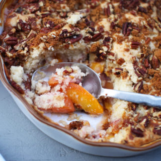 Peach Cobbler {SNEAKY SUNDAY RECIPE}